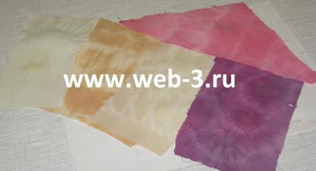 Покрасить ткань в домашних условиях растительными красителями