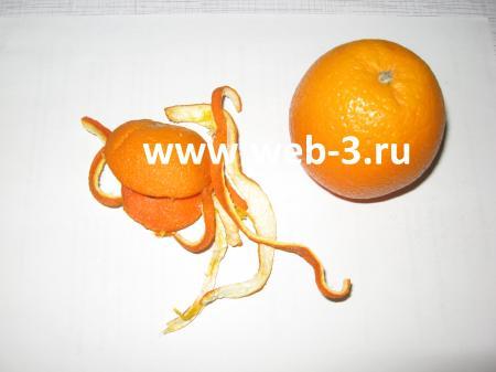 Покрасить ткань в домашних условиях цедрой апельсина