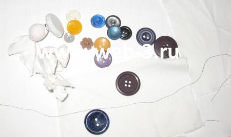 Покрасить ткань в домашних условиях с узором