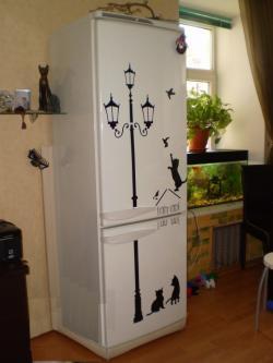 Дизайн для холодильника своими руками