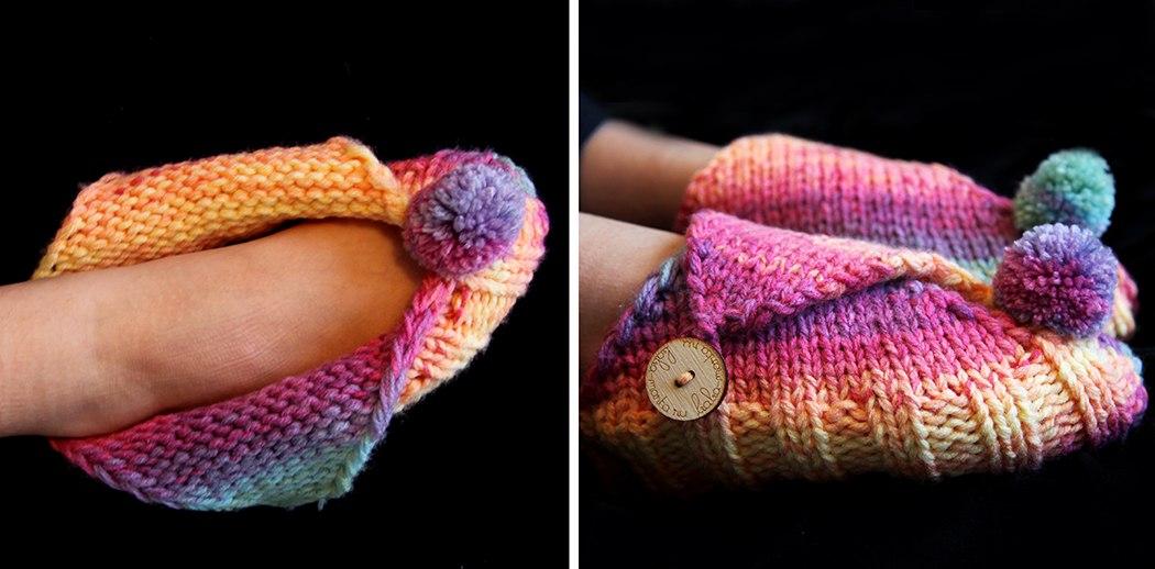 Носки и тапочки | Вязание